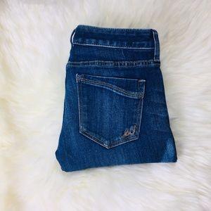 Express Ankle Skinny Stella Lowrise Jeans Size 0